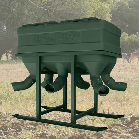 Texas Hunter 2000lb. Capacity Xtreme Protein Feeder Designed for Does & Fawns
