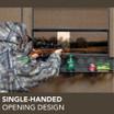 Single-Handed Opening Design
