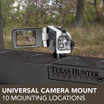 Universal Camera Mount with 10 Mounting Locations