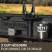 3 Cup Holders for Drinks or Storage