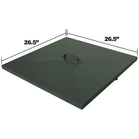 Replacement Lid Dimensions for DF425 & LM435 Fish Feeders