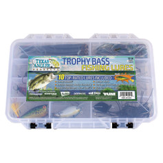Texas Angler Trophy Bass Fishing Lure Kit