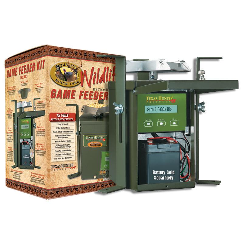 texas hunter 12 volt wildlife feeder kit Deer Feeder Circuit