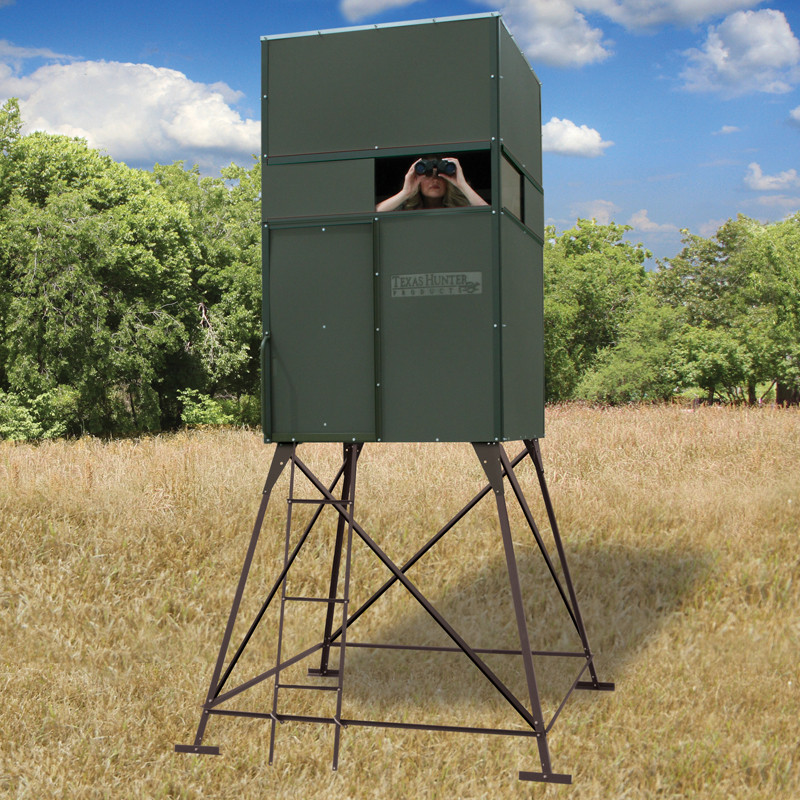 Deer Hunting Blind Texas Hunter Products 4 X4 With 4