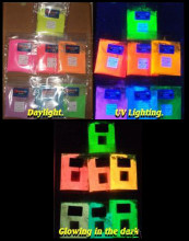 Glow in the dark with Fluorescent UV