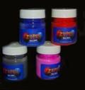 Thermochromic temperature colour changing powder 31c Dark Black Blue to Cyan Blu