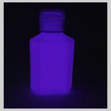 Violet (purple) glow in the dark paint