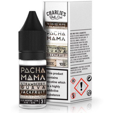 Strawberry, Guava & Jackfruit Eliquid By Pacha Mama