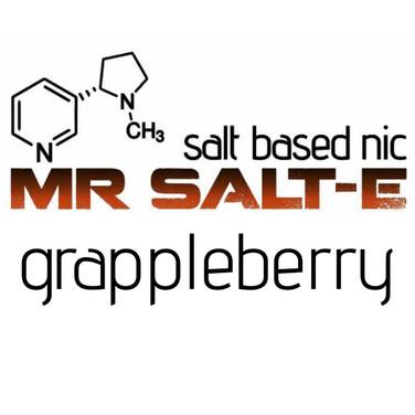 Grappleberry E-Liquid by Mr Salt-E
