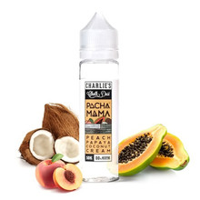Pacha Mama - Peach, Papaya and Coconut Cream E-Liquid 50ml