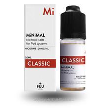 Classic E-Liquid by MiNiMAL