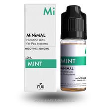 Mint E-Liquid by MiNiMAL