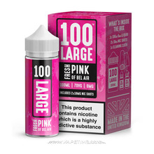 Large Juice - 100 Large - Fresh Pink Of Bel Air 100ml
