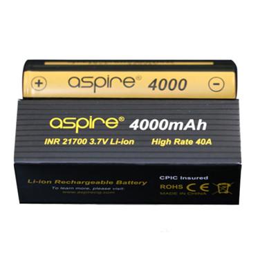Aspire ICR 21700 Battery 4000mAh