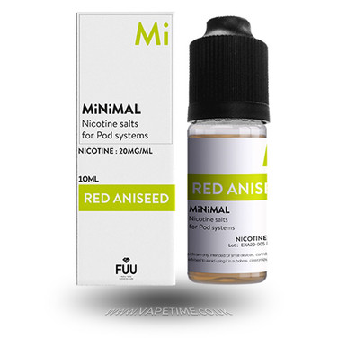Red Aniseed E-Liquid by MiNiMAL
