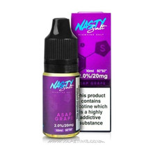 ASAP Grape Eliquid by Nasty Salt