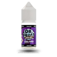 Grape Ice Eliquid by Dr Frost Salt Nic