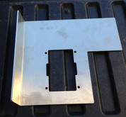 05' - 15' Tacoma Large Mounting Plate with Kick-Out and RTMR Cutout