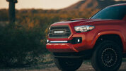 Rigid Industries 2016+ Toyota Tacoma Bumper Light Bar and Mount Kit