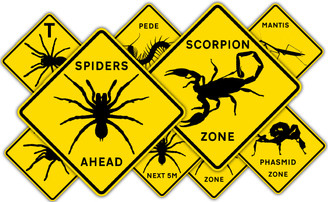 Minibeast Road Signs