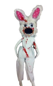 Crazy Bloody Rabbit Zombie Doll