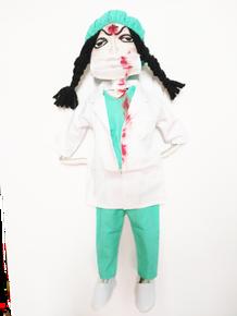Doctor/Nurse Zombie Doll