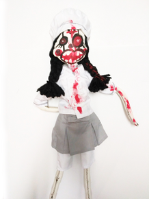 Chef/Cook Zombie Doll