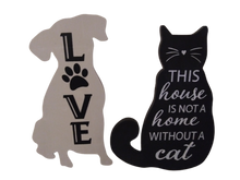 Dog & Cat  Wall Decor Set
