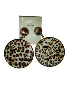 Animal Leoapard Print Earrings