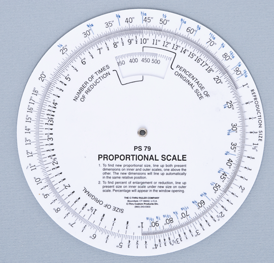 Quilting Tips Using A Proportional Scale C Amp T Publishing