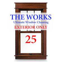 THE WORKS Complete EXTERIOR Cleaning Package: 25