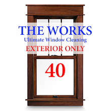 THE WORKS Complete EXTERIOR Cleaning Package: 40