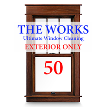 THE WORKS Complete EXTERIOR Cleaning Package: 50