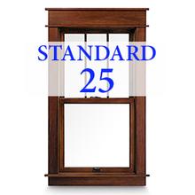 Standard Window Cleaning Package: 25