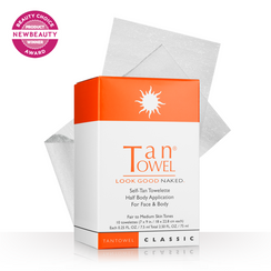 Tan Towel Half Body Classic Self-Tan Towelettes - 10 Pack