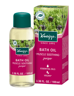 Muscle Soothing Bath Oil: Juniper