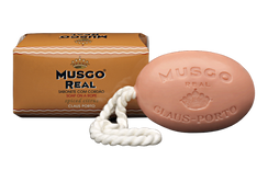 Musgo Real Soap on a Rope - Spiced Citrus Scent