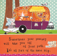 Off Your Path Card