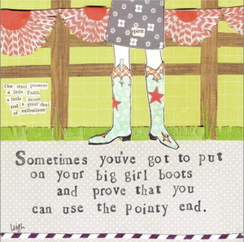 Big Girl Boots Card