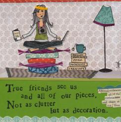 Clutter Card
