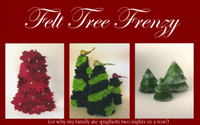 Felt Tree Frenzy Template Download (free)
