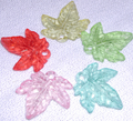 Pastel Leaves - 10 count bags.