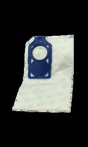 Genuine Riccar Brilliance HEPA Vacuum Bags- Fits R30D, R30P & R30Pet- Blue Bag Holder- RNH-6