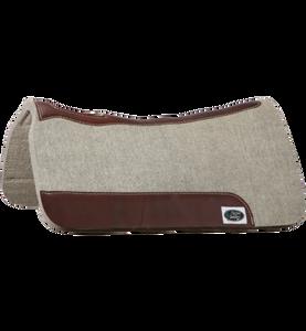 Wool Roper Saddle Pads Gray