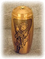 Bronze Urn (Roses)