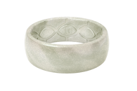Groove Silicone Ring - Pearl