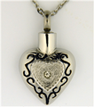 Simple Heart With Center Stone