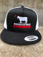 Nebraska Republic flatbill black/white