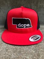 Dope Nebraska flatbill hat