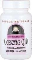 Co Enzyme Q 10   200 mg   30 soft gel caps